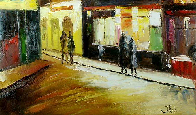 Schilderijen steden