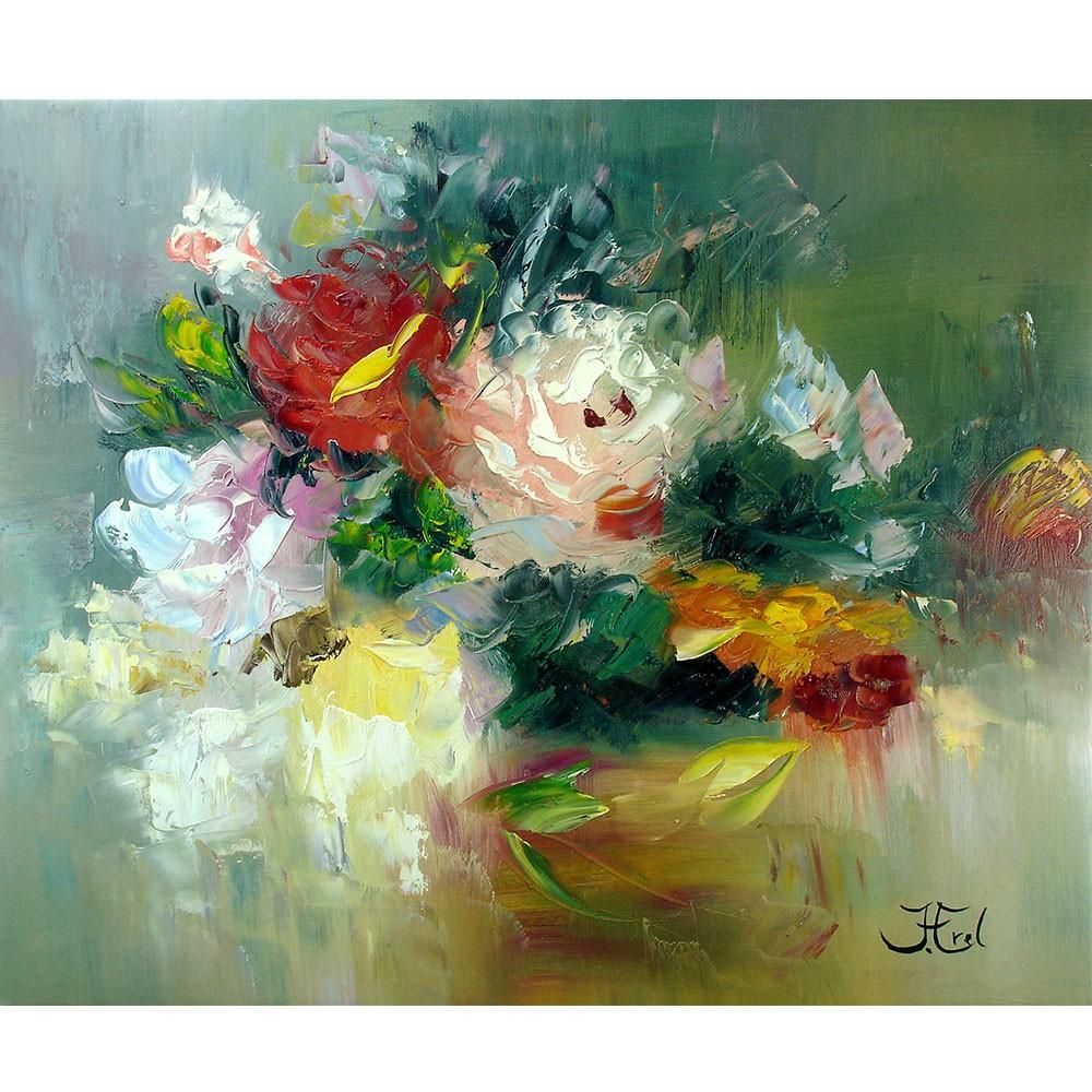 Schilderij Romantic Roses John Frel