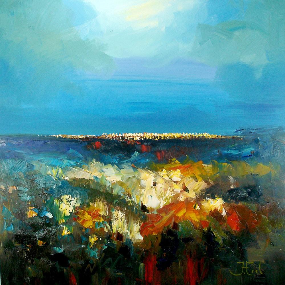 Abstracte schilderijen online en abstracte schilderijengalerie - Schilderij ingang en gang ...