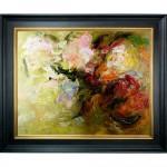 Schilderij Mixed Flowers John Frel met sierlijst